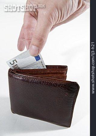 Purse, Paying, Cash, Stealing