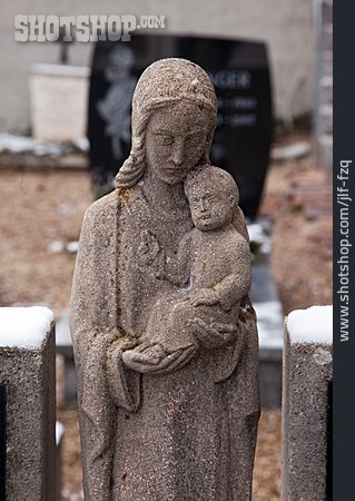 Statue, Madonna Figure
