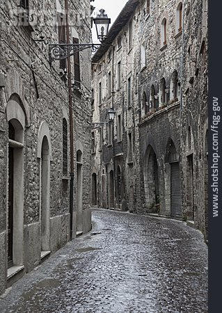 Old Town, Alley, Cantiano