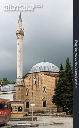 Mosque, Minaret, Berat