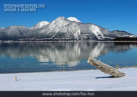 Lake, Walchensee, Herzogstand