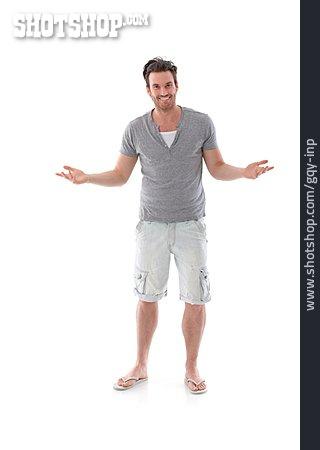 Man, Shorts, Summer Clothes