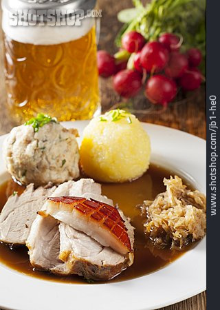 Bavarian Cuisine, Roast Pork