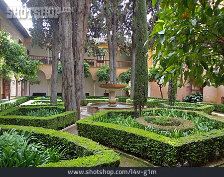 Formal Garden, Landscape Architecture