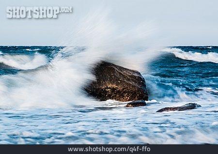 Sea, Spray, Surf, Stormy