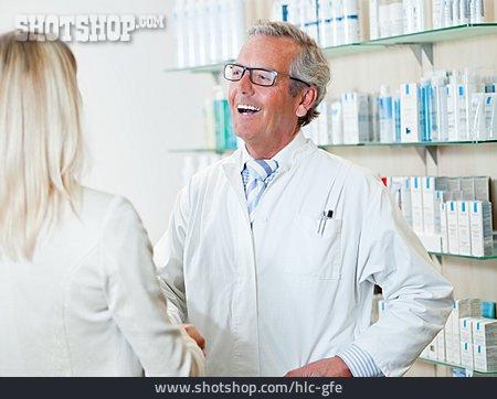 Customer, Pharmacist