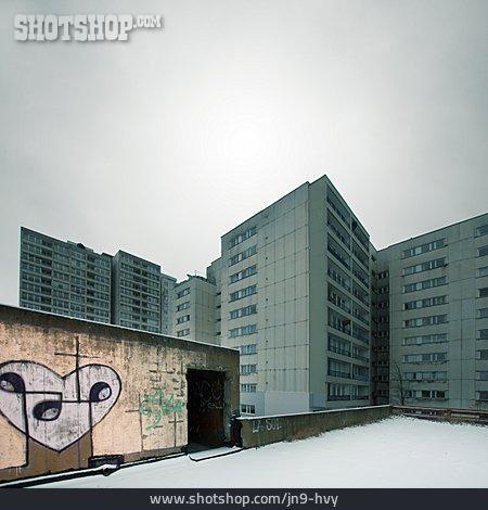Berlin, Skyscraper, Ghetto, Kreuzberg, Council House, Tenement