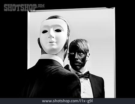 Young Man, Mask, Identity, Masked Ball