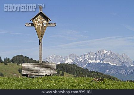 Cross, Tirol, Wilder Kaiser, Calvary