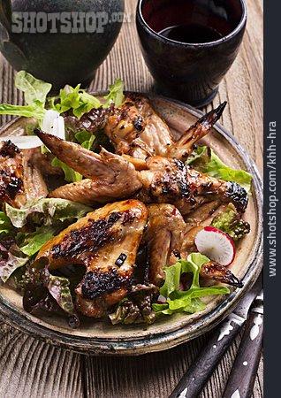 Chicken, Poultry Meat, Chicken Wings