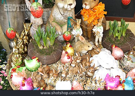 Easter Bunny, Easter Decoration, Window Display