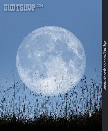 Moon, Full Moon, Astronomy