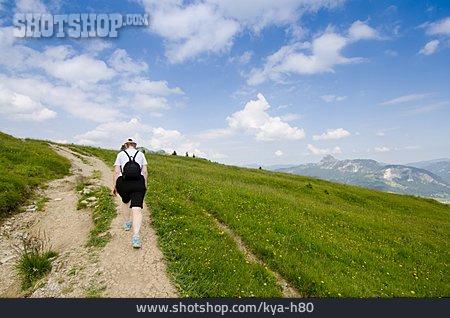 Hiking, Trail, Hiker