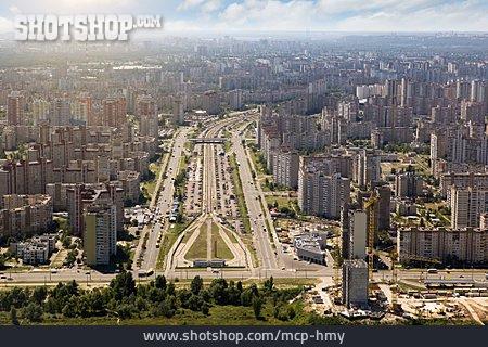 City View, Sea Of Houses, Kiev