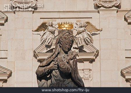 Virgin Mary, Madonna, Salzburg Cathedral