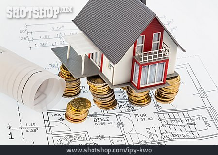 Building Construction, Building Loan Contract, Mortgages, House Cost