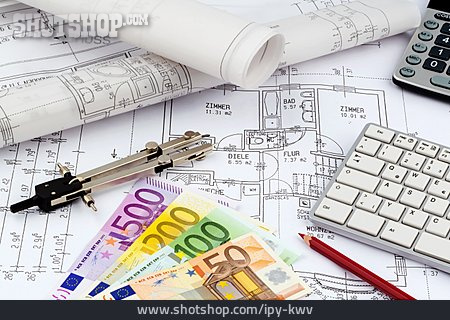 Building Construction, Floorplan, Architect Office, Mortgages