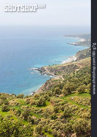 Coast, Mediterranean Sea, Crete