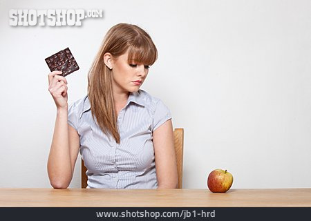 Young Woman, Healthy Diet, Nutrition, Diet