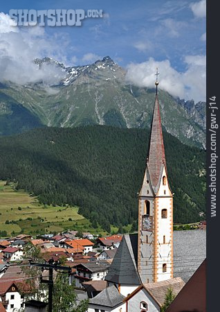 European Alps, Locality, Nauders