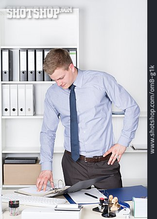 Young Man, Businessman, Office Assistant