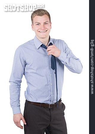 Young Man, Man, Businessman