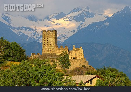 Castle, Aosta Valley