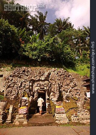 Temple, Goa Gajah