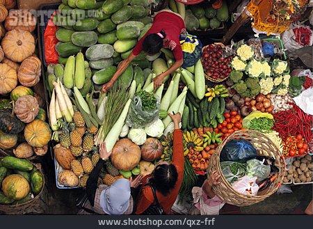 Market, Market Hall, Vegetable Shop