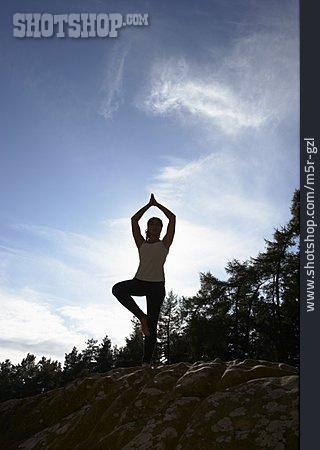 Balance, Yoga, Vrkshasana