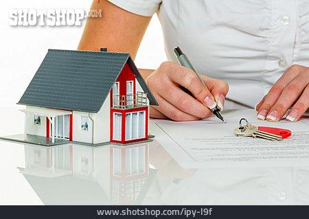 Purchase, Model House, Signing, Buying House
