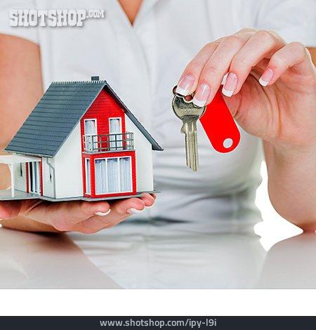Key, Real Estate, Model House, Real Estate