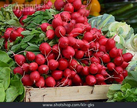 Vegetable, Radish