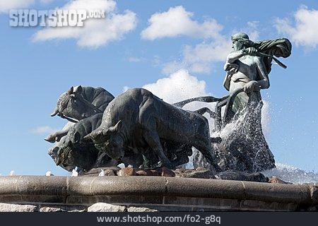 Copenhagen, Gefion Fountain