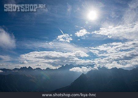 Mountain Range, European Alps