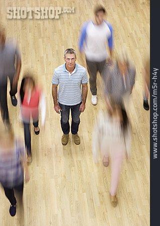 People, School, Walking, Teacher