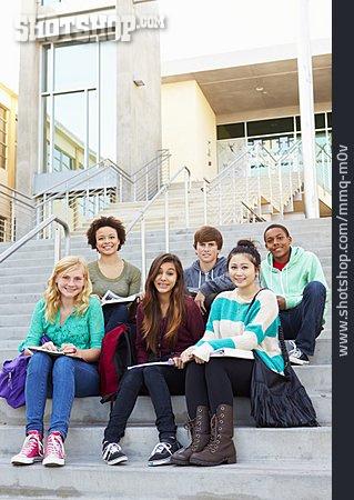 Teenager, School, School Children