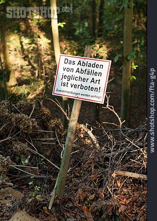 Environment Protection, Shield, Do Not Enter Sign