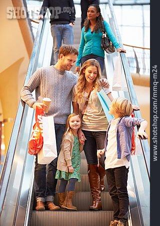 Purchase & Shopping, Family, Shopping, Escalator