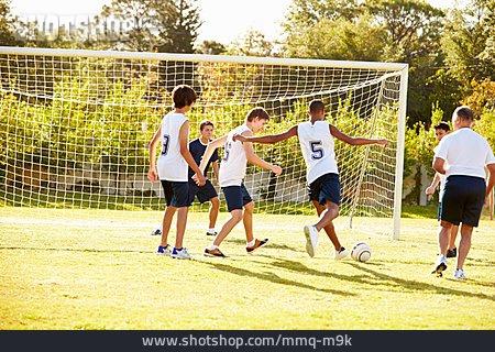 Teenager, Soccer, Soccer