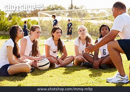 Teenager, Soccer Field, Coach, Soccer Player