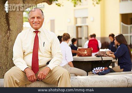 Teacher, Campus, Headmaster