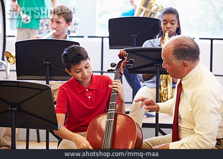 Music School, Music Students, Music Teacher