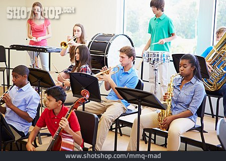 Orchestra, Music Lessons, Music Students