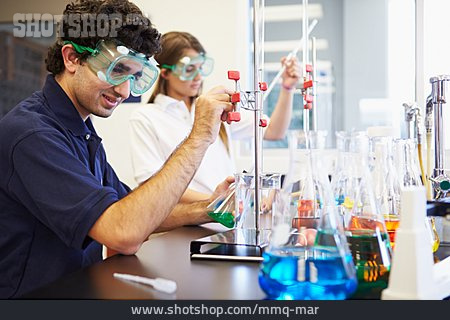 College Student, Chemistry, Chemic Lesson