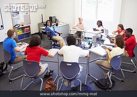 School Children, Students, Class, Seminar, Classroom