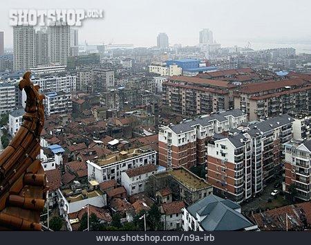 Building, Skyscrapers, Wuhan