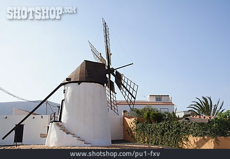 Windmill, Fuerteventura, Antigua