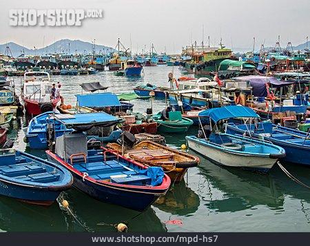Boat, Fishing Boat, Cheung Chau