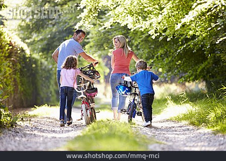Excursion, Cycling, Family Outing